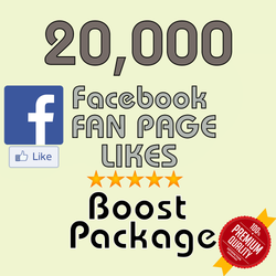 20000 Facebook Fan Page Likes - buy instagram followers cheap