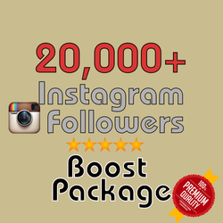 20000 Instagram Followers - buy instagram followers cheap