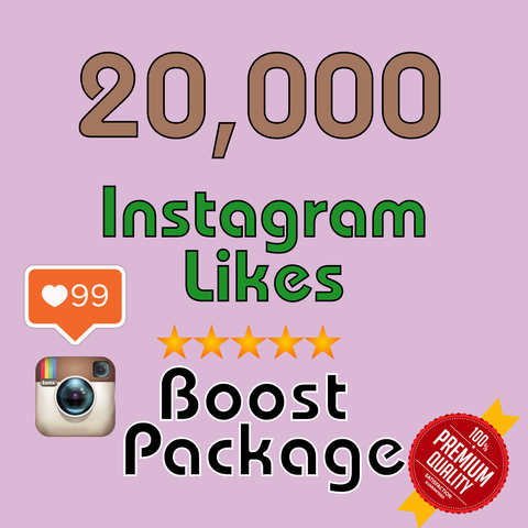 20000 Instagram LIKES - buy instagram followers cheap