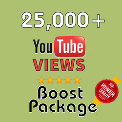25000 YouTube Views - buy instagram followers cheap