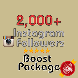 2000 Instagram Followers 48h/delivery - buy instagram followers cheap