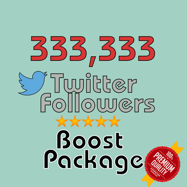 333,333 Twitter Followers - buy instagram followers cheap