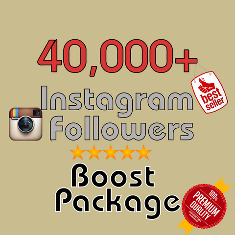 40000 Instagram Followers - Recommended Package - buy instagram followers cheap