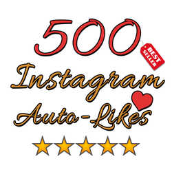 500 Instagram Auto Likes per post - buy instagram followers cheap