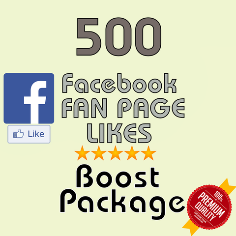 500 Facebook Fan Page Likes - buy instagram followers cheap