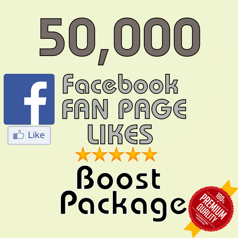 50000 Facebook Fan Page Likes - buy instagram followers cheap