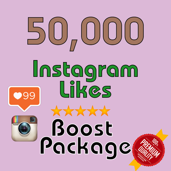50000 Instagram LIKES - buy instagram followers cheap