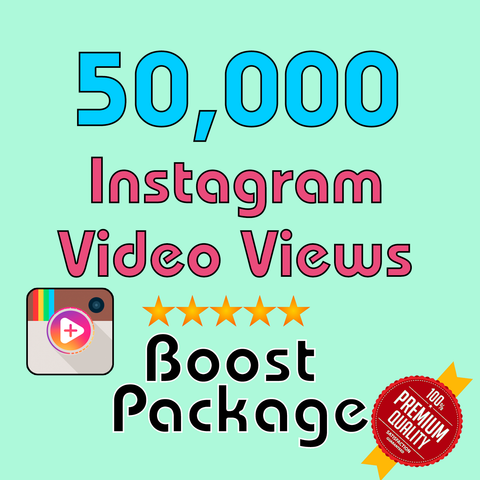 50000 Instagram Video Views - TryFollowers - Cheapest Services - 2