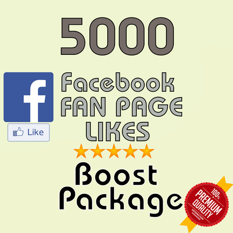 5000 Facebook Fan Page Likes - buy instagram followers cheap