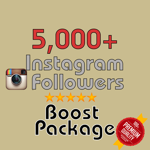 5000 Instagram Followers 48h/delivery - buy instagram followers cheap