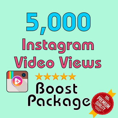 5000 Instagram Video Views - TryFollowers - Cheapest Services