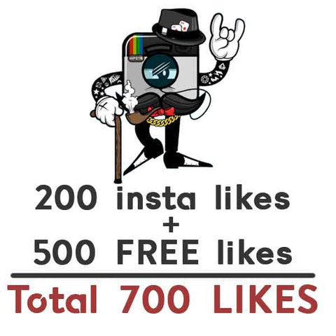 GET FREE 500 instagram post likes when you buy 200 likes - buy instagram followers cheap