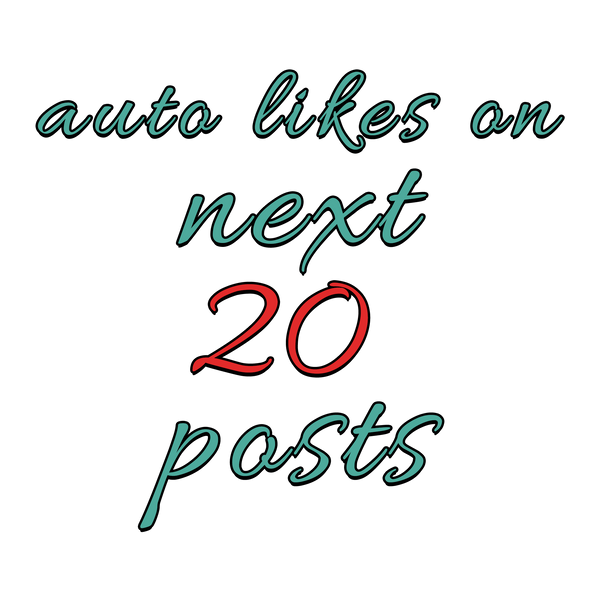 1000 Instagram Auto Likes per post