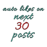 100 Instagram Auto Likes per post - buy instagram followers cheap