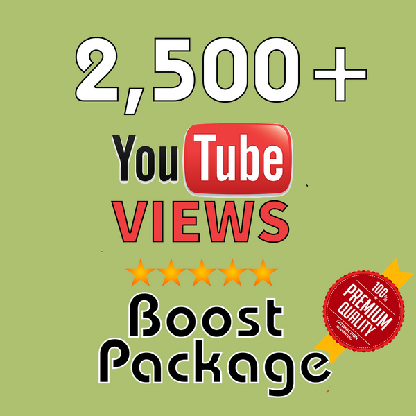 2,500 YouTube Views - buy instagram followers cheap