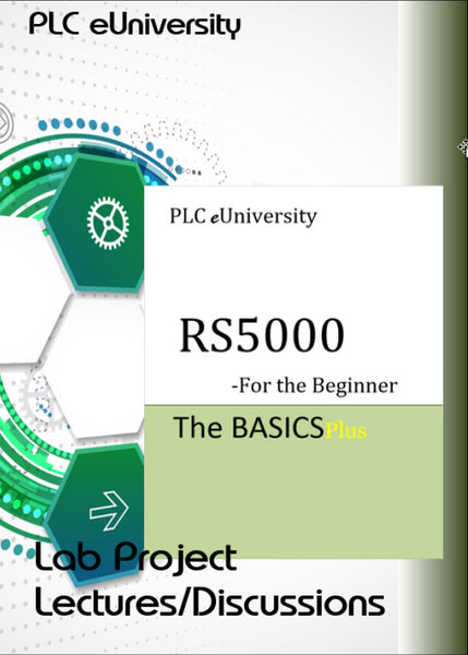 34 - Lab Lecture/Discussions for the RS5000 Lab Project Manual - BeginnerPlus 2nd Volume of set