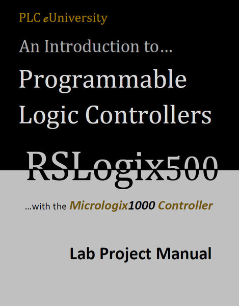 40 - The Complete PLCLearn Series for the Micrologix 1000/1100 Controller w/Software - Min Order 10 Manuals