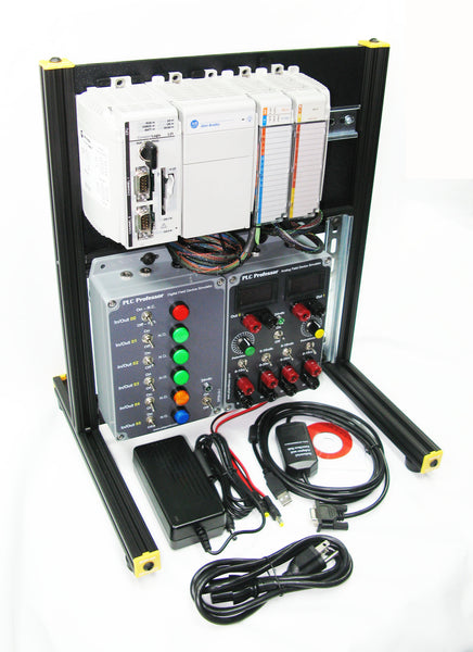 35 - CompactLogix Learning/Development Station w/ Digital & Analog Field Device Simulators