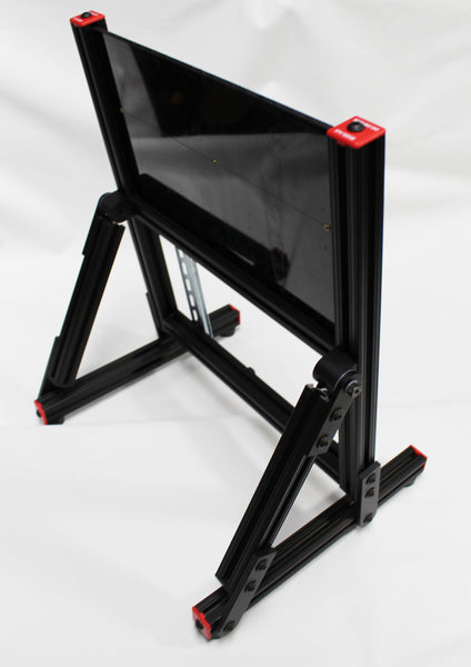 27 - Universal Lab Station Stand - Adjustable Frame - Add your own Controller-I/O and I/O Simulator