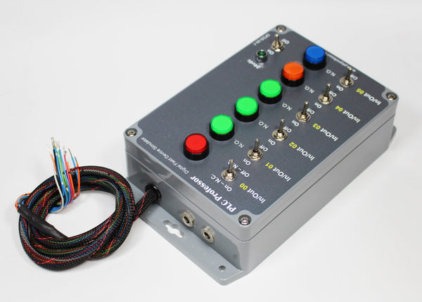 28 - Universal Digital Field Device Simulator -         Use with PLC2/3/5, SLC500 - Micrologix1000, 1100, 1200, 1400, 1500 - ControlLogix or CompactLogix or any PLC with DC I/O