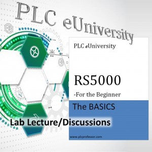 21 - Lab Lecture/Discussions for the RS5000 Lab Project Manual - Beginner 1st Volume of set