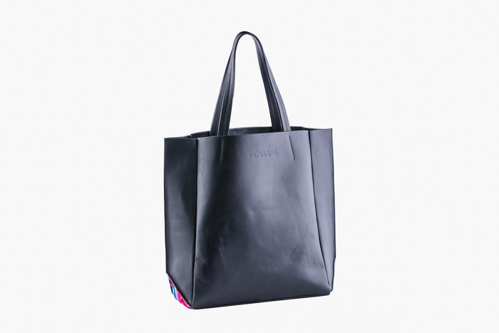 The Andean Leather Tote