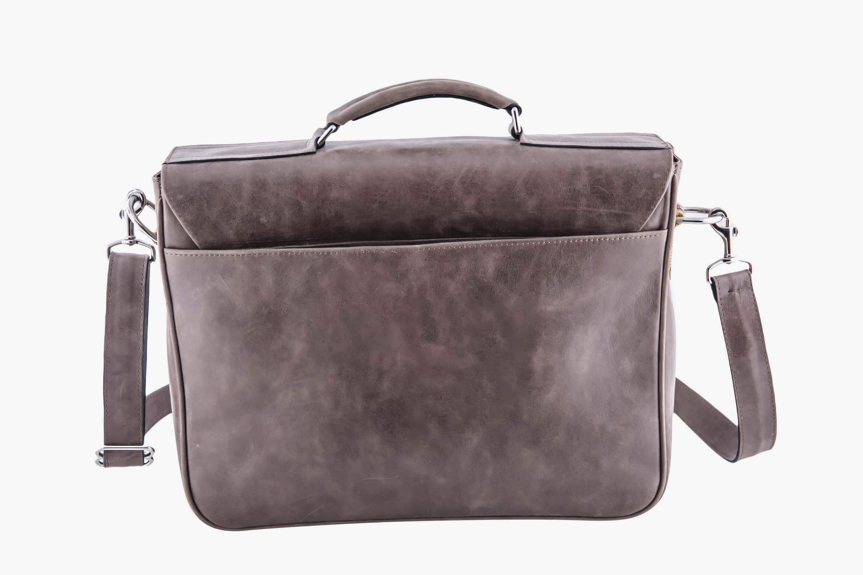 Sturdy Leather Messenger Bag