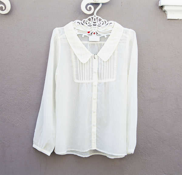 White collared Vintage shirt