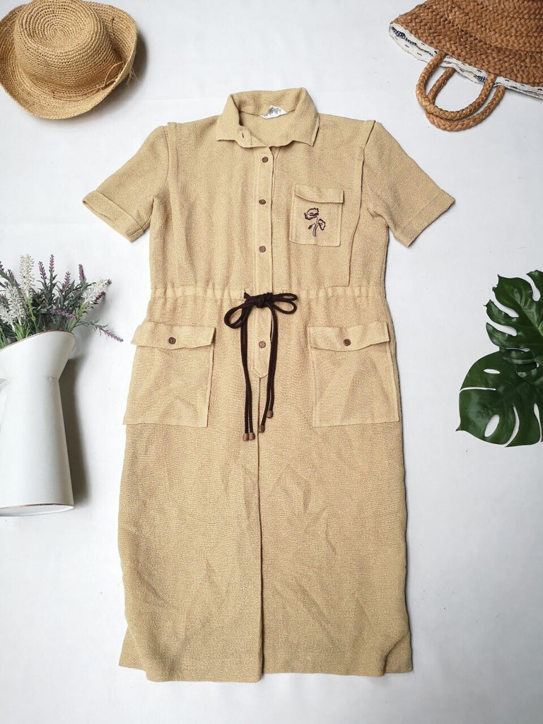 Neutral Earthy Dress