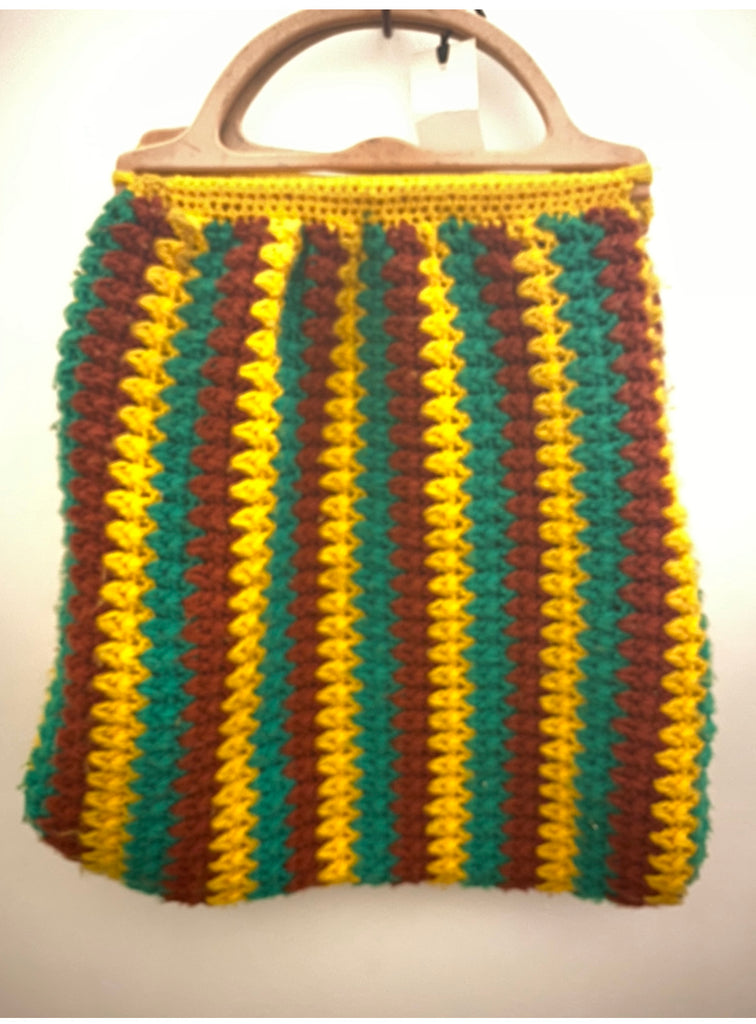 The Bob Marley knitted vintage bag