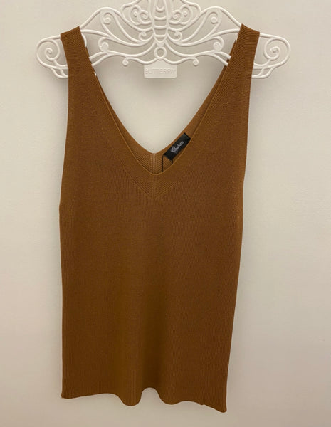 Earth toned knitted camisoles