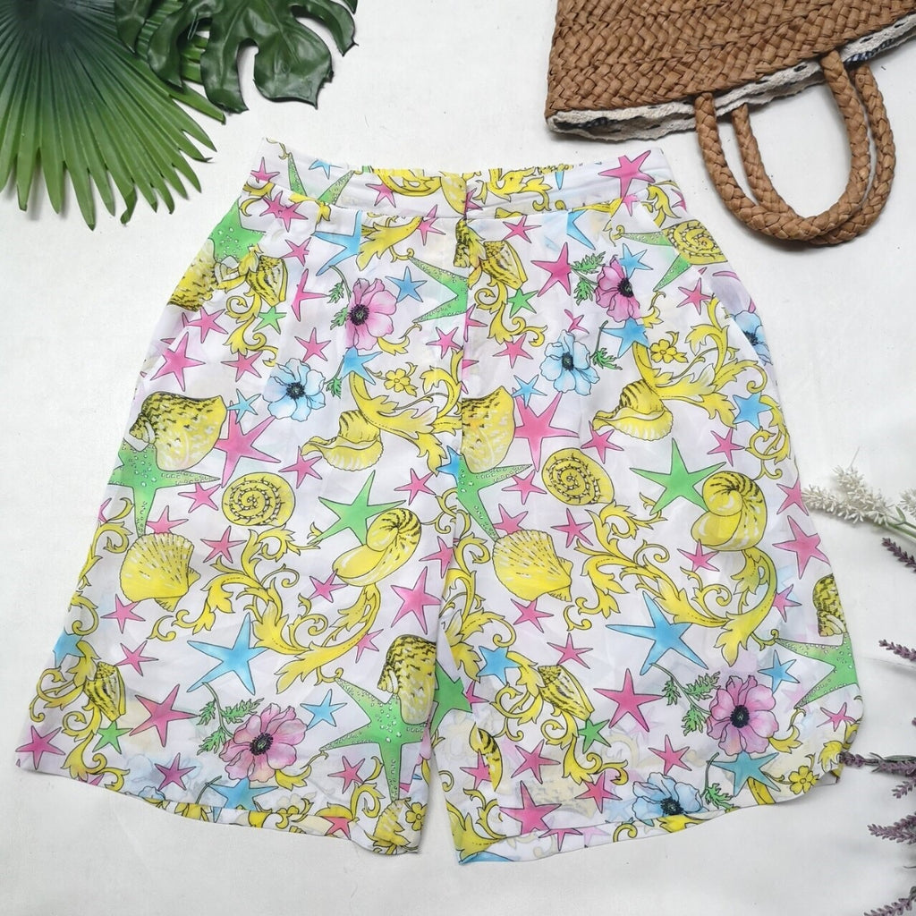 Under the Sea Vintage Shorts