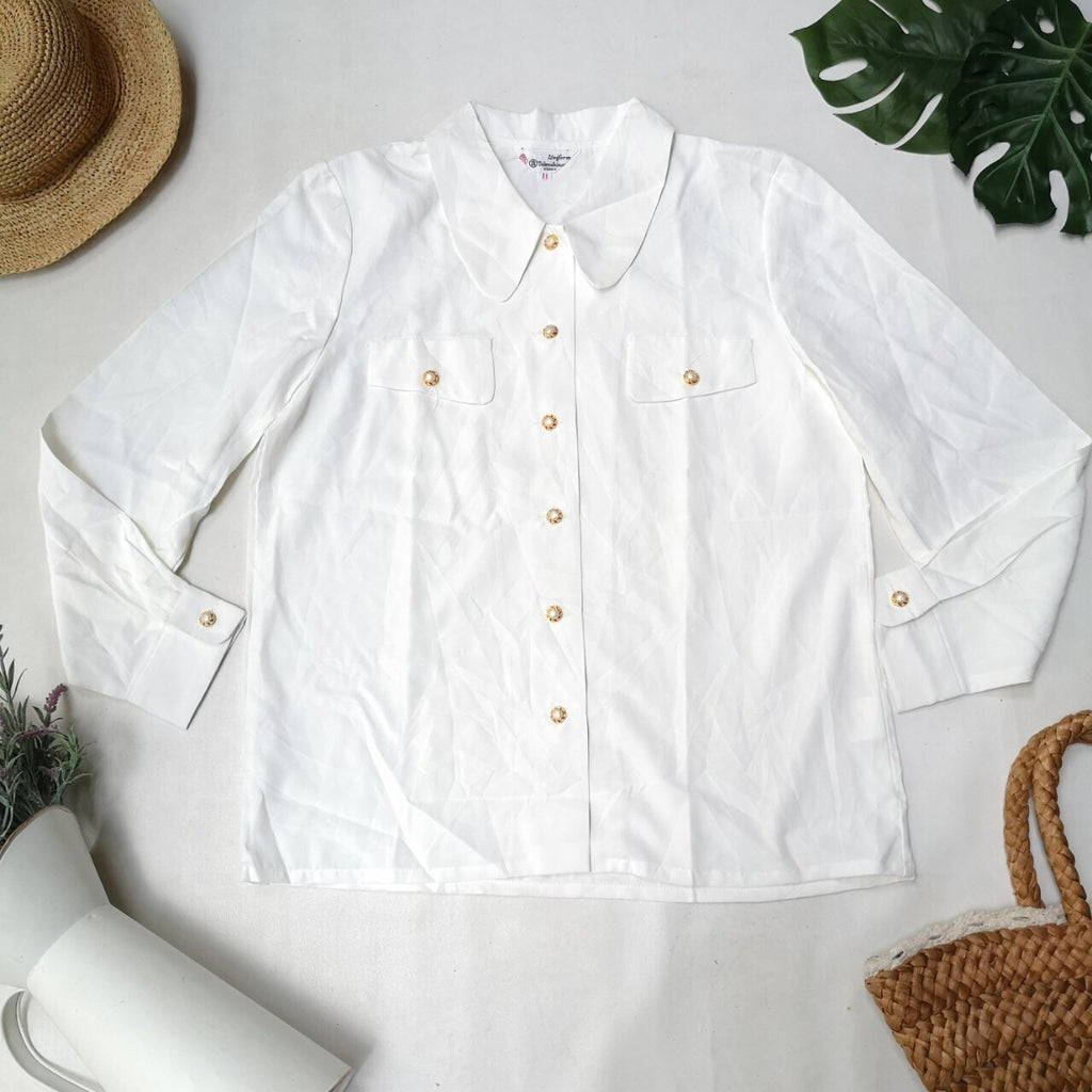 White vintage blouse