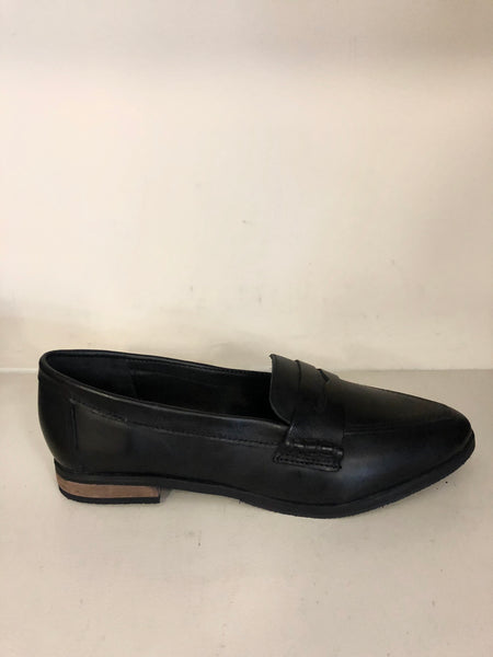 Lola loafer plain black