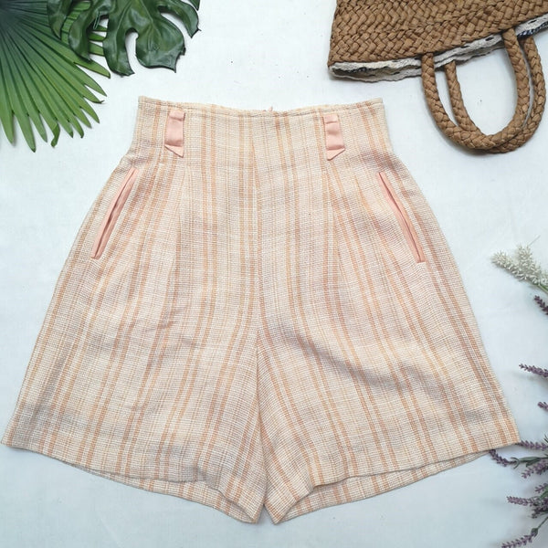Light Orange Vintage Shorts