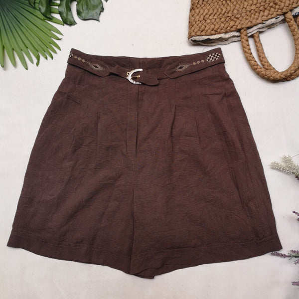 Brown Vintage Shorts