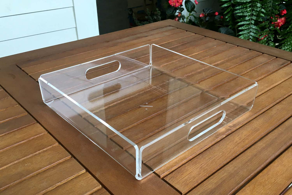 Square Acrylic Tray 100 Recycled Acrylic Tray Newly