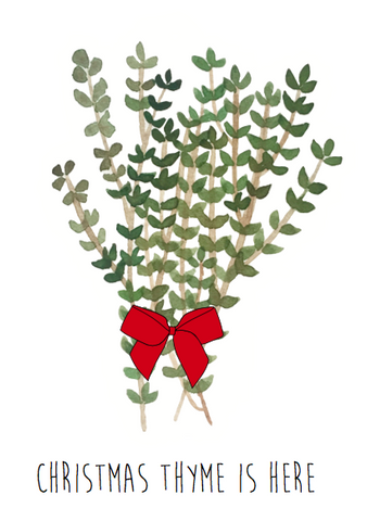 Christmas Thyme is Here