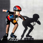 Rookie One Kids Inline Skate 4x84 | 3x90 race setup