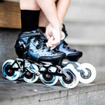 Rookie One Kids Inline Skate 4x90 | 3x100 race setup