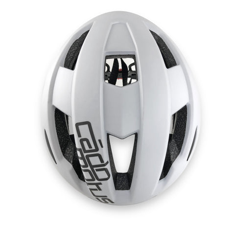 Sigma Aerodynamic Cycling helmet with extreme ventilation | matte white color