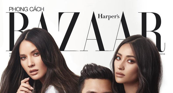 COVER STORY. 7TH ANNIVERSARY OF HARPER'S BAZAAR VIENTNAM. FEAT. SHAY MITCHELL.