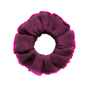 Dark Purple Scrunchies/Cuffs
