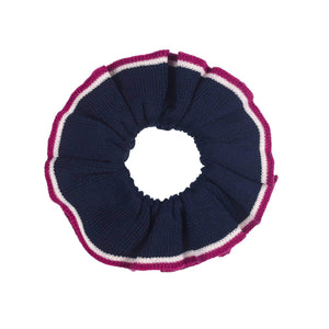 Navy Scrunchies/Cuffs