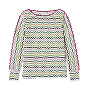 Green Stripe Savannah Sweater