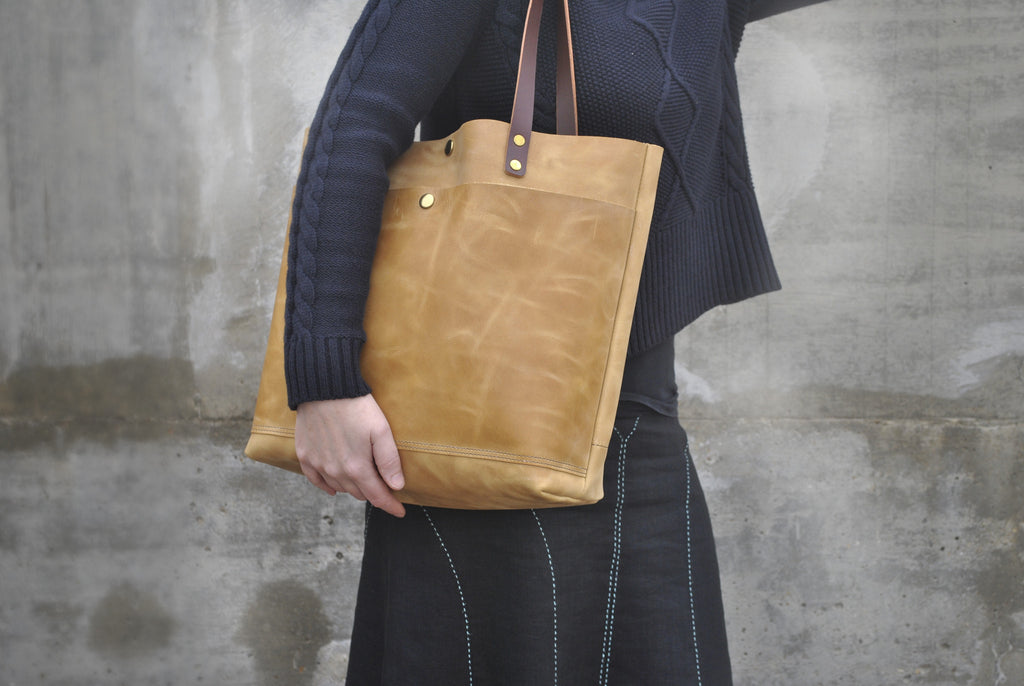 Our latest leather bags