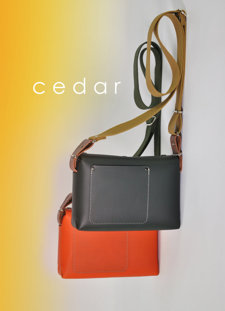 Adventures in Colour with our new Cedar leather crossbody bag coming soon