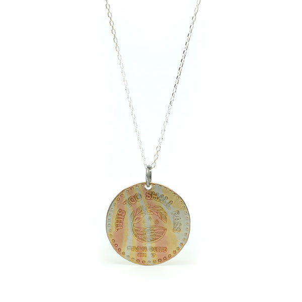 The Passing Coin Necklace | Mokume