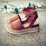 Earthini™ Wedges Summer Sandals