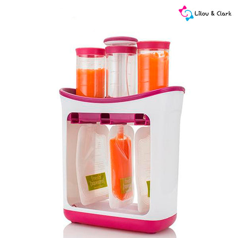 Squeeze-n-go™ Station - The Ultimate Baby Food Storage Maker